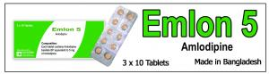 Emlon-5 Tablet  ()