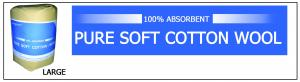 Pure Soft Cotton Wool ()