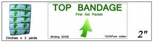 Top Bandage (Binding Edge) 2in x 3yd ()