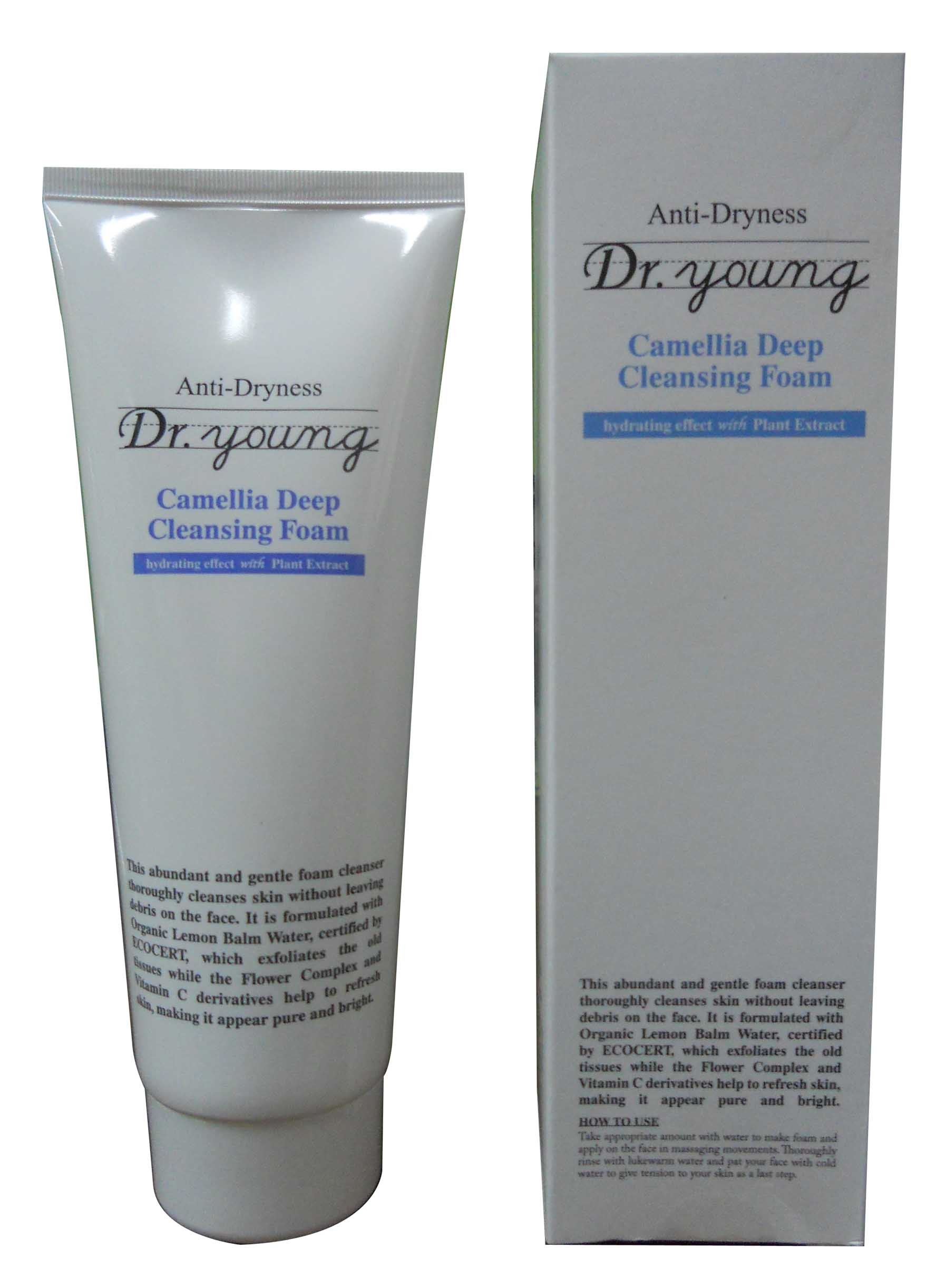 Anti-Dryness (Camellia Deep Cleansing Foam)