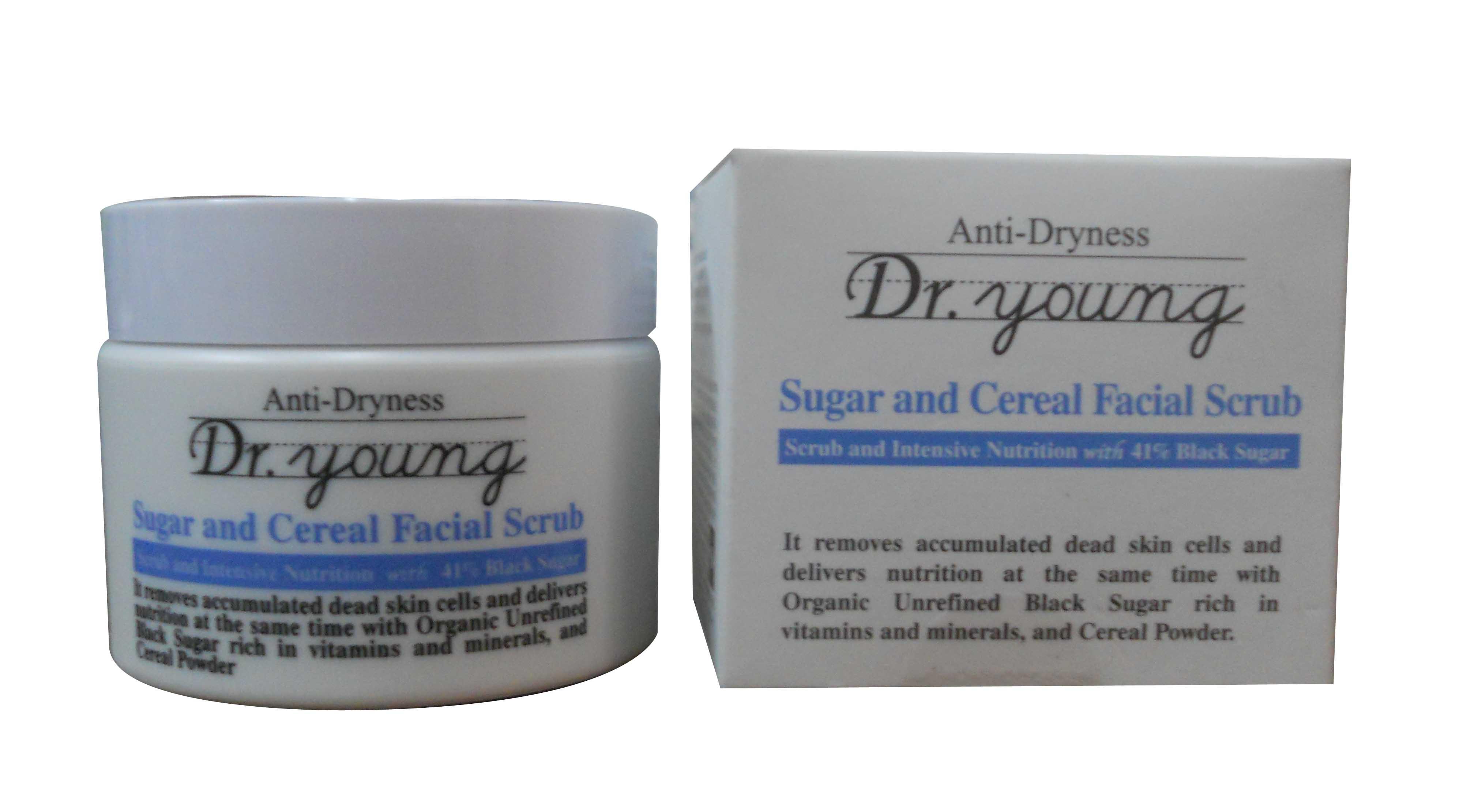 Anti-Dryness (Sugar and Cereal Facial Scrub)