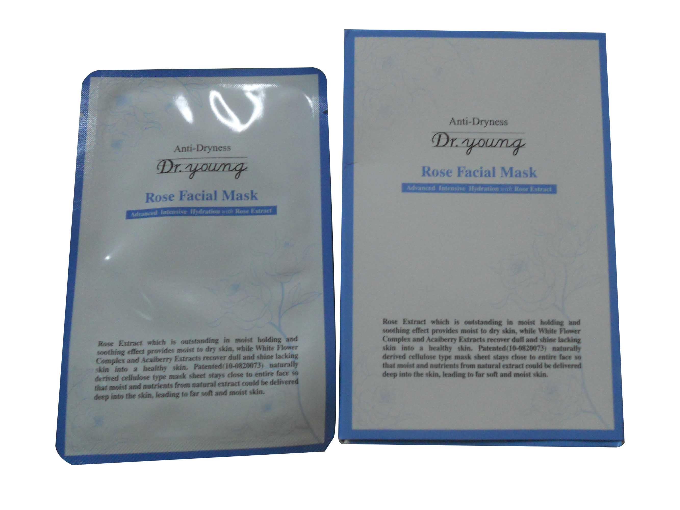 Anti-Dryness (Rose Facial Mask)